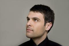 Retrato de um homem de negócios novo Imagem de Stock Royalty Free
