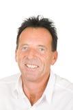 Retrato de um homem de sorriso envelhecido médio Fotos de Stock Royalty Free