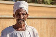 Retrato de um homem de Sudenese Imagens de Stock Royalty Free