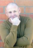 Retrato de um homem envelhecido médio considerável Imagens de Stock Royalty Free
