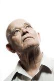 Retrato de um homem idoso Imagem de Stock Royalty Free