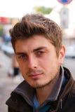 Retrato de um homem novo Fotografia de Stock Royalty Free