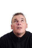 Retrato de um homem novo Foto de Stock Royalty Free