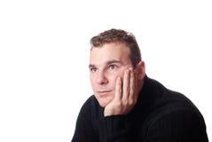Retrato de um homem novo Fotos de Stock
