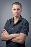 Retrato de um homem novo. Fotos de Stock Royalty Free