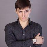 Retrato de um homem novo Imagem de Stock Royalty Free