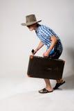 Retrato de um homem novo em um franco de vinda completo Imagem de Stock Royalty Free
