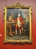 Retrato de um homem novo, por Batoni Imagens de Stock Royalty Free