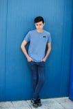 Retrato de um homem rebelde do adolescente Imagem de Stock Royalty Free