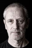 Retrato de um homem sério e seguro Imagens de Stock Royalty Free