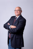 Retrato de um homem sênior bem sucedido Imagens de Stock