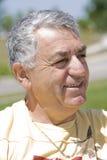 Retrato de um homem sênior Imagens de Stock Royalty Free