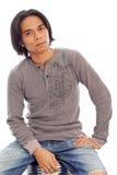 Retrato de um macho filipino Imagens de Stock