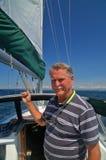 Retrato de um marinheiro Imagem de Stock Royalty Free