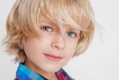 Retrato de um menino Fotos de Stock Royalty Free