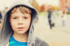 Retrato de um menino Foto de Stock Royalty Free