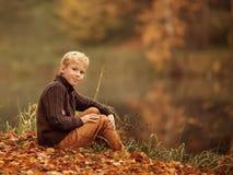 Retrato de um menino Foto de Stock