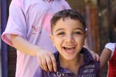 Menino egípcio feliz  Imagem de Stock Royalty Free
