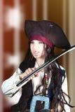 Retrato de um menino irritado Foto de Stock Royalty Free