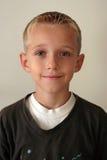 Retrato de um menino novo Fotos de Stock Royalty Free