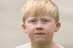 Retrato de um menino novo Imagens de Stock Royalty Free