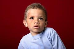 Retrato de um menino novo Foto de Stock Royalty Free