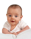 Retrato de um menino pequeno Fotografia de Stock Royalty Free