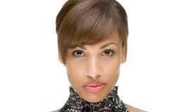 Retrato de um modelo africano Foto de Stock