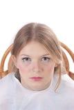Retrato de um modelo da composição Fotografia de Stock Royalty Free