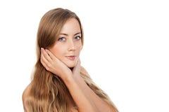 Retrato de um modelo fêmea bonito Fotografia de Stock Royalty Free