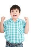 Retrato de um oitavo menino dos anos de idade Imagens de Stock
