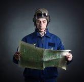 Retrato de um piloto Foto de Stock Royalty Free