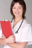 Retrato de um profissional médico foto de stock