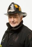 Retrato de um sapador-bombeiro Imagens de Stock