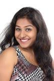 Retrato de um sorriso indiano da menina Fotografia de Stock Royalty Free