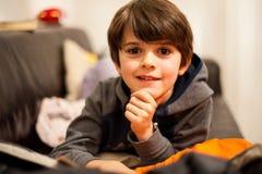 Retrato de uma criança Imagens de Stock Royalty Free