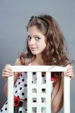 Retrato de uma criança. imagens de stock royalty free