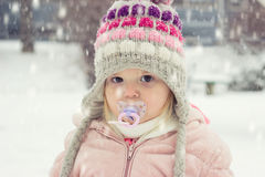 Retrato de uma criança Fotos de Stock