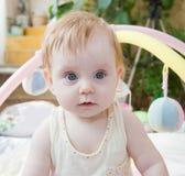 Retrato de uma criança bonita Foto de Stock Royalty Free