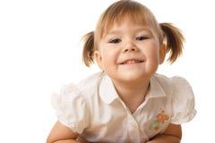 Retrato de uma criança bonita Imagem de Stock
