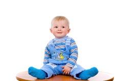 Retrato de uma criança bonita que ria foto de stock