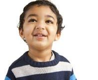Retrato de uma criança de sorriso Fotografia de Stock