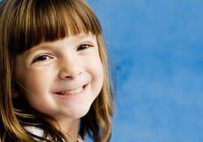 Retrato de uma criança nova adorável imagem de stock royalty free