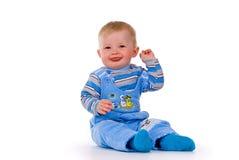 Retrato de uma criança bonita Imagens de Stock Royalty Free