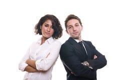 Retrato de uma equipe do negócio Foto de Stock Royalty Free