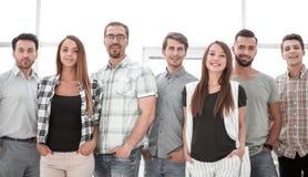 Retrato de uma equipe profissional do negócio imagem de stock royalty free