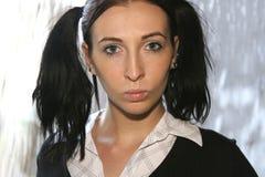 Retrato de uma estudante Fotos de Stock Royalty Free