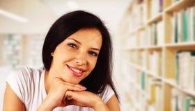 Retrato de uma estudante universitário Fotografia de Stock