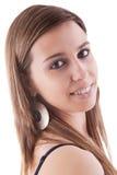 Retrato de uma fêmea bonita Fotografia de Stock Royalty Free