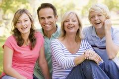 Retrato de uma família Fotos de Stock